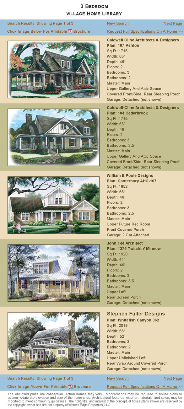 Village Homes page 1